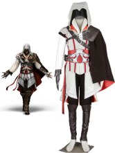 Cotton Leather Assassin's Creed Ezio Game Cosplay Costume