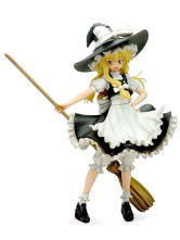 Touhou Project Kirisame Marisa PVC Anime Action Figure