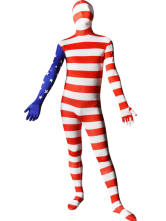 Flag of the United States Full Body Spandex Suit Zentai Suit