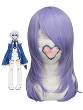 Purple 45cm Pandora Hearts-Echo Nylon Cosplay Wig