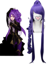 Purple 90cm VOCALOID-Gakupo Nylon Cosplay Wig