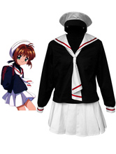 Card Capture Sakura Tomoe Primary School Girls Cosplay Costume