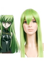 Green Code Geass-C.C. 80cm Nylon Cosplay Wig