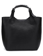 Elegant Cow Leather Woven Tote Bag For Ladies