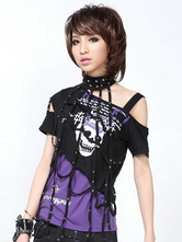 Lolitashow Asymmetrical Sleeves Lolita Blouse