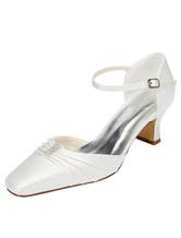 Chaussures mariage à talons avec cristal