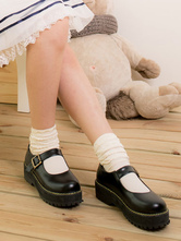 Lolitashow Sweet Lolita Sock White Ankle Sock With Lace Trim Prevent Silk