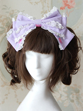 Lolitashow Bows Pattern Lovely Lolita Headdress
