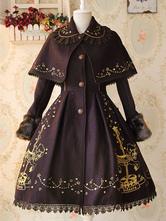 Lolitashow Carousel Lolita Coat
