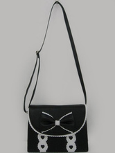 Lolitashow Unique Bow PVC Lolita Bag