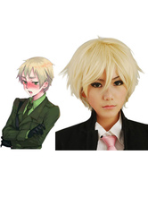 Gold Axis Powers Hetalia England Cosplay Wig