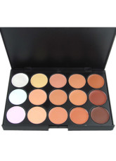 15 Color Face Make Up Blusher Palette