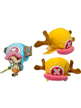 One Piece Tony Tony Chopper Yellow Plush Cloth Anime Hat