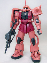 Mobile Suit Gundam Char's Counter Attack  Char'S Zaku II Anime Model Kit