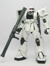 Mobile Suit Gundam Zaku II White Auger Anime Modal Kit