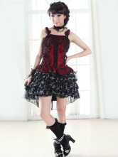Lolitashow Elegant Sleeveless Cotton Lolita Blouse