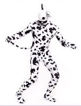 アニマルゼンタイ ライクラ・スパンデックス 乳牛 ユニセックス フルボディ 大人用 アニマル柄