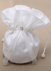Nice Ecru White Bridal Wedding Handbag