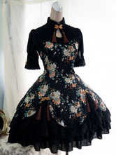 Qi Lolita Dress Chinese Style Qiluo Incense Sakura Fairy OP Lolita One Piece Dress