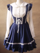 Lolitashow Sweet Lolita Dress Kawaii JSK Neverland Jumper Skirt