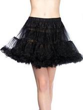 Sweet Lolita Petticoat Black Lolita Tu Tu Skirt