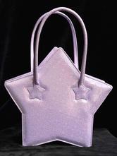 Sweet Lolita Bags Purple Star Shape Lolita Handbags