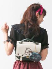 Sweet Lolita Bags Black Printed Lolita Backpack