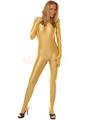 Gold Lycra Spandex Zentai Catsuit Halloween 4292