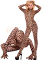 Leopard Lycra Spandex Suit Halloween Animal Bodysuit Costume Cosplay 4292