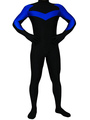 Black Lycra Spandex Catsuit Halloween Costume Cosplay Halloween 4292