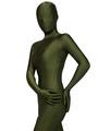 Halloween Zentai Suits Hunter Green Spandex Bodysuit Halloween 4292