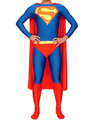 Halloween Classic Blue And Red Superman Super Hero Catsuit Halloween 4292