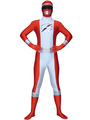 Power Rangers Zentai Suit Superhero Bodysuit For Halloween 4292