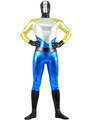 Halloween Superhero Zentai Suit Catsuit Shiny Metallic Lycra Spandex Unisex Costume 4292