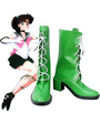 Sailor Moon Sailor Jupiter Kino Makoto Imitated Leather Cosplay Shoes 4292
