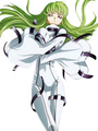 Code Geass C.C Halloween cosplay costume  Halloween 4292