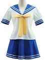 Lucky Star Izumi Konata Cosplay Costume Seifuku School Uniform 4292