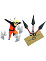 Naruto Ninja Kunai Three Knife Set Halloween 4292