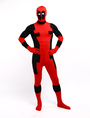 Halloween Deadpool Zentai Suit Lycra Spandex Superhero Full Bodysuit 4292