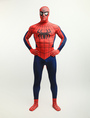 Halloween Spiderman Zentai Suit Lycra Spandex Super Hero Full Bodysuit 4292