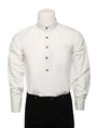 Men's Vintage Costume Victorian White Shirt Retro Costume Top Halloween 4292