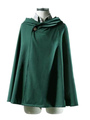 Attack On Titan Rivaille Levi Cloak Halloween Cosplay Costume Shingeki no Kyojin Survey Corps Scout Regiment Cloak Halloween 4292