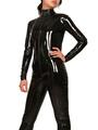 Halloween Catsuit Unicolor Shiny Metallic Bodysuit 4292