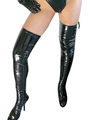 Halloween Black Sexy PVC Stockings 4292