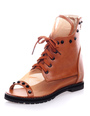 Women's Rivets Flat Sandal Boots 4292