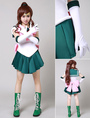 Sailor Moon Sailor Jupiter Makoto Kino Cosplay Costume 4292