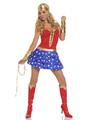 Halloween Great Superheros Costume for Girl 4292