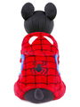 Dog Halloween Costume Red Spiderman Pet Costume Halloween 4292