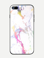 Protective Phone Case Print Shatter Resistant Stain Proof IPhone X IPhone 8 Tempered Glass Phone Cover 4292
