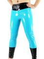 Halloween Blue PVC Catsuit Trousers Halloween 4292